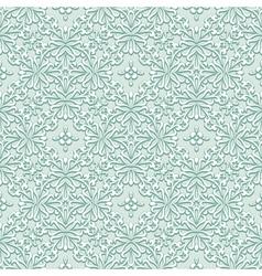 Light green pattern vector image