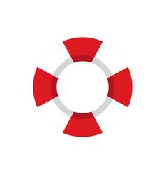 Simple lifeguard tire vector