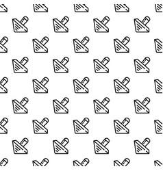 Wood dreidel pattern seamless vector