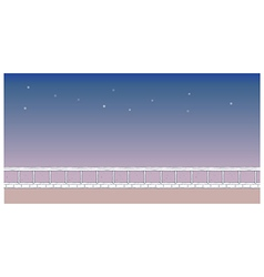 night park background vector image vector image