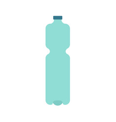 plastic bottle isolated plastic container for vector image