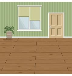 wood floor vector image vector image