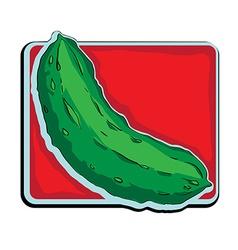 cucumber clip art vector image