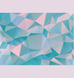 polygonal geometric pattern vector image