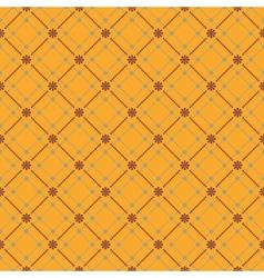 flower pattern background vector image vector image