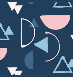 hipster mix and match minimalistic pattern vector image