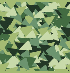 abstract seamless pattern made triangles in vector image