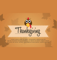 background thanksgiving style collection stock vector image
