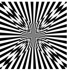 Checkered pattern with distortion effect deformed vector