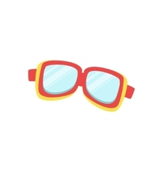 Protective Surfing Glasses vector image