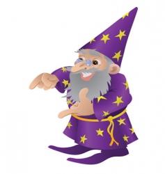Wizard illustration vector