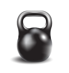 iron weight for athletic exerciseseps 10 vector image