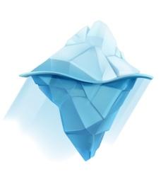 Iceberg icon vector image vector image