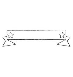 Decorative ribbon banner vector