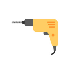 Drill flat icon vector