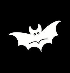 Ector bat icon vector