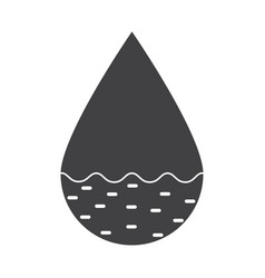 hydrology icon vector image