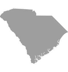 Map us state of south carolina vector