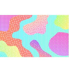 mempis design background vector image