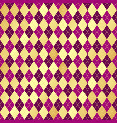 seamless geometric pattern wiith rhombuses vector image