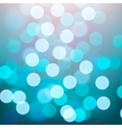 Blue lights blurred background vector image