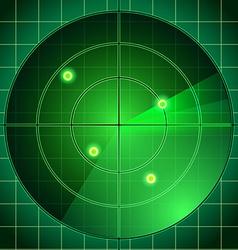 A radar vector