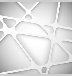 abstract background white net vector image