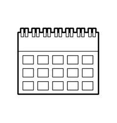 calendar business date appointment icon vector image