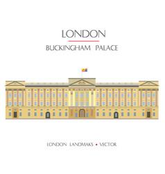 colorful london landmark 5 vector image