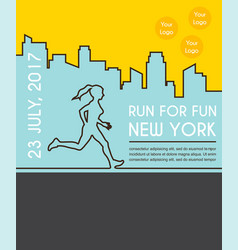 Number one winner at a finish line poster design vector