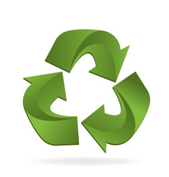 recycle process vector image