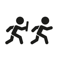 Relay pictogram vector