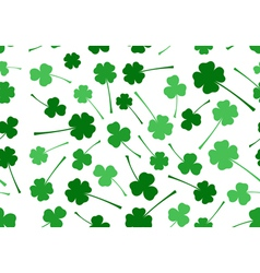 Seamless Saint Patrick s Day background vector image