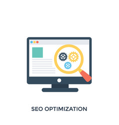 Seo optimization vector