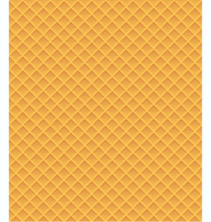 waffle seamless pattern vector image
