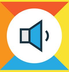 megaphone colorful outline symbol premium quality vector image