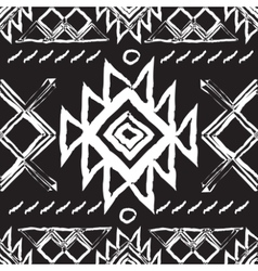 Tribal ethnic seamless patternnational vector image vector image
