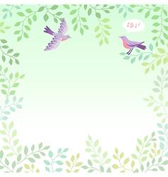 Sing bird vector