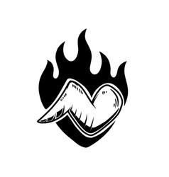 beer hop design element for logo label sign vector image