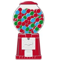 Chewingball machine vector