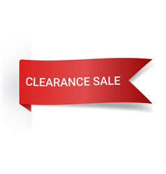 Clearance sale realistic detailed curved paper vector