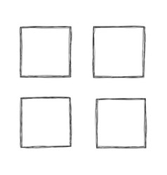collection frames vector image