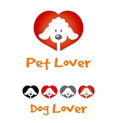 Dog Lover Symbol vector