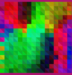 geometric background of triangles vector image