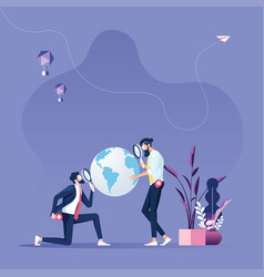Global business search opportunity vector