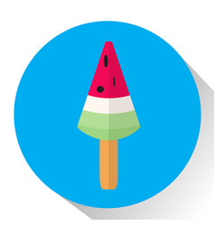 Isolated popsicle icon vector