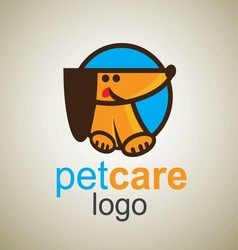 Pet care logo 5 vector