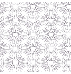 seamless pattern of stylized women s shoes vector image
