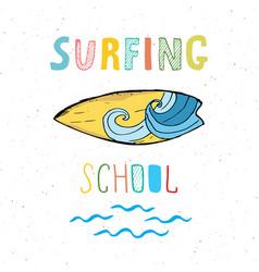surf boards hand drawn sketch t-shirt print vector image