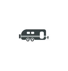trailer icon simple vector image